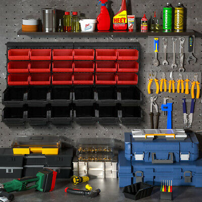 Work room stack box , tool shelves